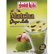 Gold Kili Matcha, Ginger Latte, Instant