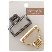 Kit Sch Claw Clip, Open Shape, Mini