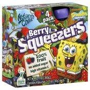 Natures Child Squeezers, Berry, Nickelodeon SpongeBob SquarePants