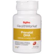 Hy-Vee Healthmarket, Prenatal Dha Supports Baby'S Brain & Eye Development During Pregnancy & Nursing Supplement Softgels