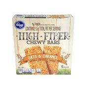Kroger Oats & Caramel High Fiber Chewy Bars