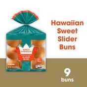 King's Hawaiian Original Hawaiian Sweet Pre-Sliced Slider Buns - 9pk