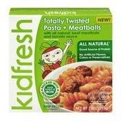 Kidfresh Totally Twisted Pasta + Meatballs