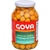 Goya Nance Changungas in Syrup