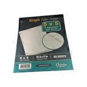 "IScholar 10.5"" X 8"" Graph Ruled Filler Paper"