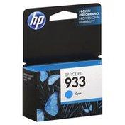 Hewlett Packard Ink Cartridge, OfficeJet, Cyan 933