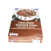 Kroger Chocolate Toasted Oats Cereal