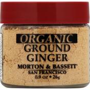 Morton & Bassett Spices Ginger, Organic, Ground