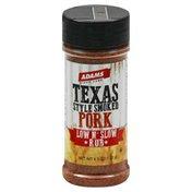 Adams Rub, Low N' Slow, Pork, Texas Style Smoked