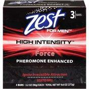 Zest for Men High Intensity Force Scented Bar Soap