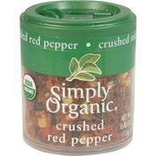 Simply Organic Certified Organic Crushed Red Pepper