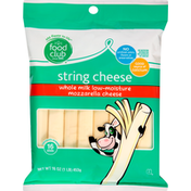 Food Club String Cheese, Mozzarella