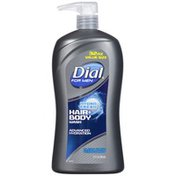 Dial for Men Hair + Body Wash, Hydro Fresh
