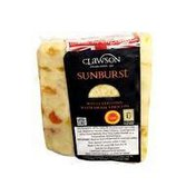 Long Clawson White English Stilton Cheese With Dried Apricots