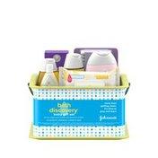 Johnson & Johnson Bath Discovery Baby Gift Set
