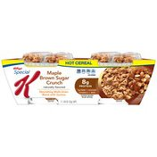 Kellogg's Special K Maple Brown Sugar Crunch Hot Cereal
