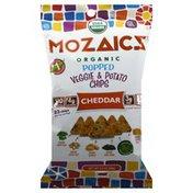 Mozaicz Veggie & Potato Chips, Cheddar