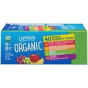 Capri Sun Organic Variety Pack