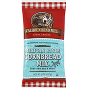 Calhoun Bend Mill Cornbread Mix, Mexican Style, with Peppers and Cheddar Cheese