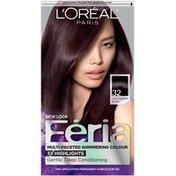 Feria Multi-Faceted Shimmering Colour 32 Light Auburn Black Hair Color