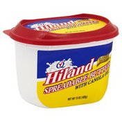 Hiland Butter, Spreadable, with Canola Oil