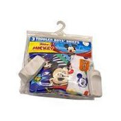Handcraft Brief Pack, Toddler Boys', Size 2T-3T, Mickey Mouse Club House