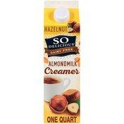So Delicious Dairy Free Hazelnut Almondmilk Creamer