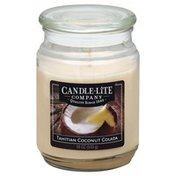 Candle Lite Candle, Tahitian Coconut Colada