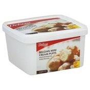 Delizza Cream Puffs, Belgian, Mini, Value Pack