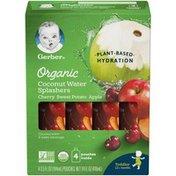 Gerber Organic Coconut Water Splashers