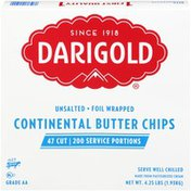 Darigold Unsalted Continental Butter Chips