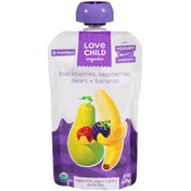 Love Child Organic Blackberry Raspberry Pear & Banana