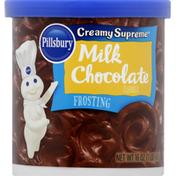 Pillsbury Frosting, Milk Chocolate Flavored