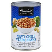 Essential Everyday Beans, Navy Chile Verde