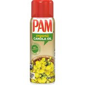 Pam Organic Canola Cooking Spray