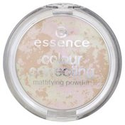 Essence Mattifying Powder, Colour Correcting, Beautiful Finish 10