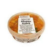 Glaser Organic Farms All Raw Vegan Farm Fresh Mango Salsa