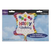 Anagram SuperShape Foil Balloon Happy Birthday