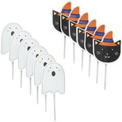 Wilton Halloween Ghost & Cat Cupcake Topper Picks