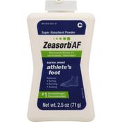 Zeasorb Antifungal Treatment, Super Absorbent Powder