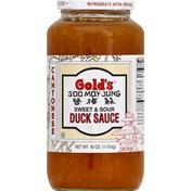 Gold's Duck Sauce, Sweet & Sour, Cantonese