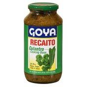 Goya Recaito, Cilantro Cooking Base