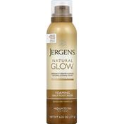 JERGENS Daily Moisturizer, Foaming, Medium to Tan Skin Tones