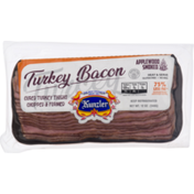 Kunzler Turkey Bacon, Applewood Smoked, Vacuum Packed