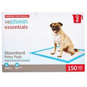 So Phresh Essentials Absorbent Potty Pads for Dogs