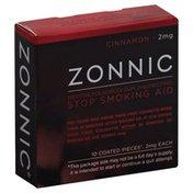 Zonnic Stop Smoking Aid, 2 mg, Gum, Cinnamon