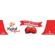 Yoplait Yogurt, Low Fat, Strawberry, 8 Pack