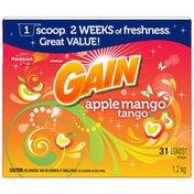 Gain with FreshLock Apple Mango Tango Powder Detergent
