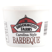 Brookwood Farms Pork, Barbeque Sauce, Pit Cooked, Carolina Style