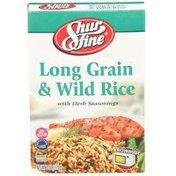 Shurfine Long Grain & Wild Rice With Herb Seasonings